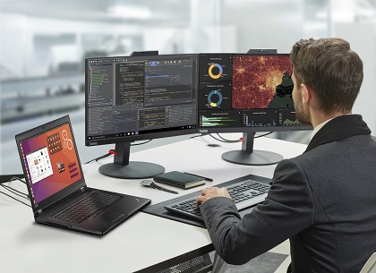 联想 ThinkPad P 系列笔记本预装 Ubuntu 系统