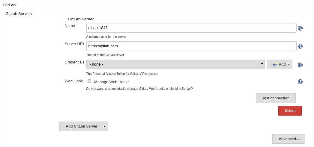 gitlab-server