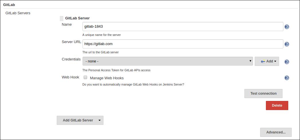 Jenkins 多分支流水线任务对 GitLab SCM 的支持