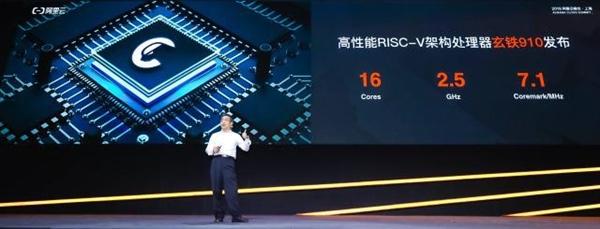 平头哥发布首款芯片玄铁910:业界最强RISC-V处理器