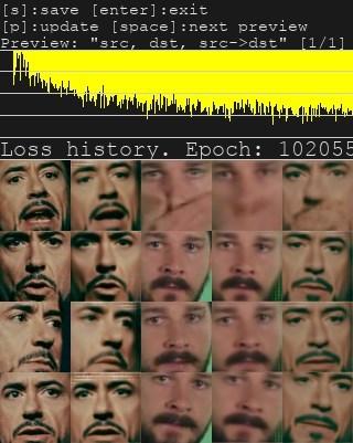 AI 换脸工具 DeepFaceLab