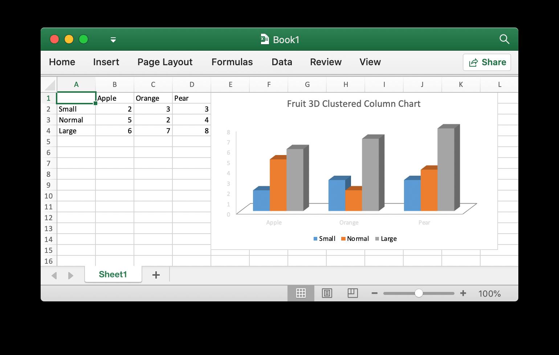 使用 Excelize 向 Excel 文档插入图片