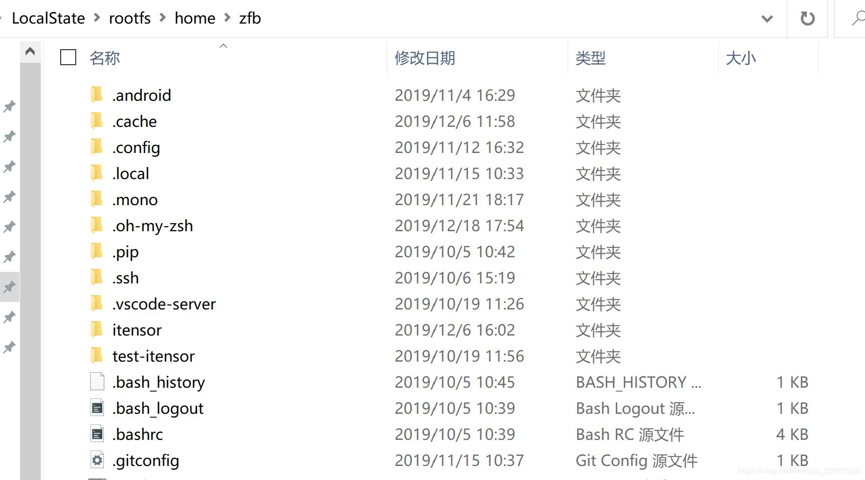 用户名文件夹