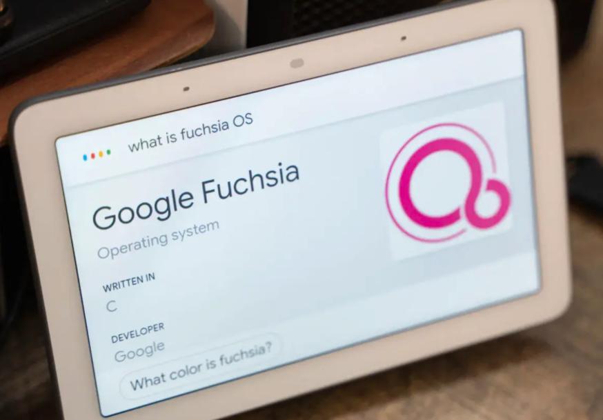 Google 正式推出 Fuchsia OS