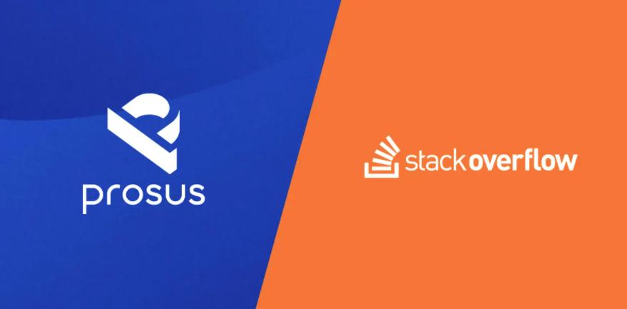 腾讯大股东 Prosus 以 18 亿美元收购了 Stack OverFlow