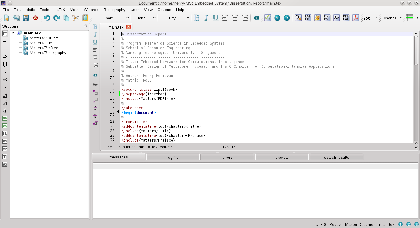 TeXstudio首页、文档和下载- LaTeX 编辑器- OSCHINA