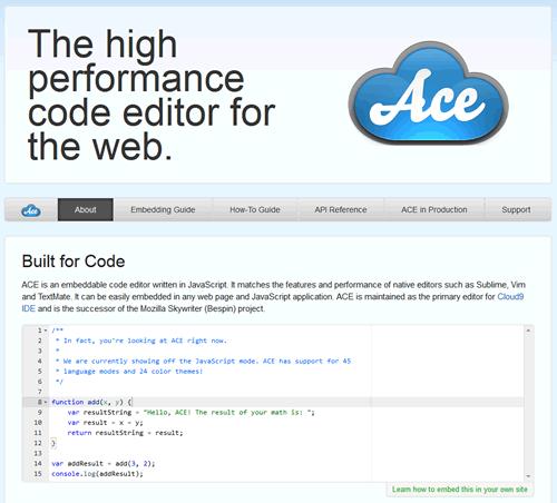 ACE Editor