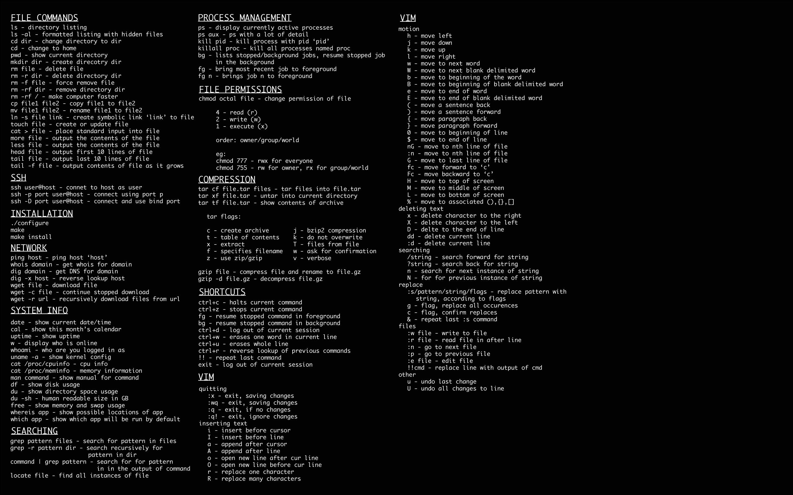 Linux cmd