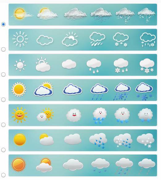 jQuery天气预报插件