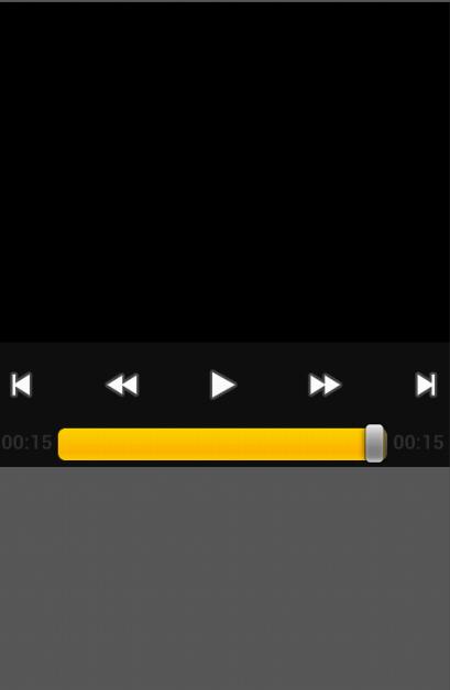 安卓视频播放器(VideoView)