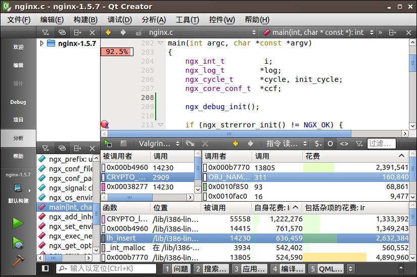 互刷qt平台_【转】linux上使用qt creator进行c/c  开发
