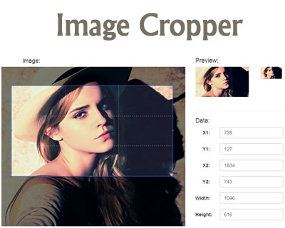 jQuery Image Cropper
