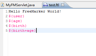 Freemarker for Freemarker template templateexception