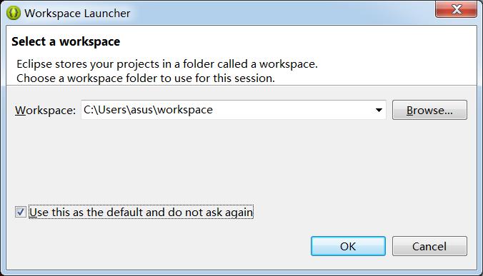 设置workspace