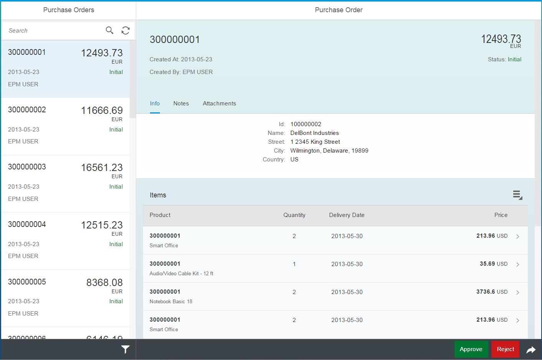 UI开发组件 SAPUI5