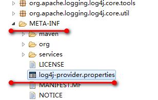 log4j-core提供的LoggerContextFactory
