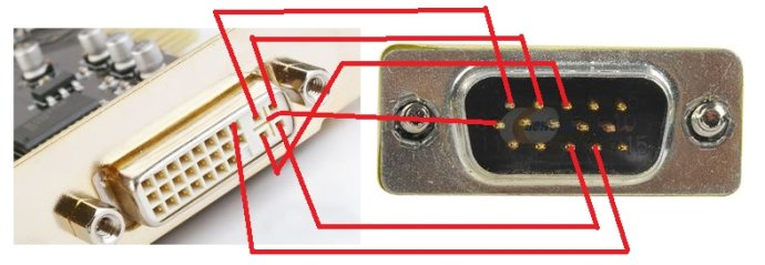 vga 手工接线方法