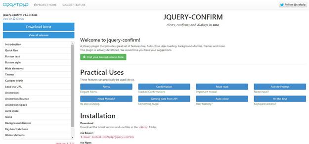jQuery Confirm