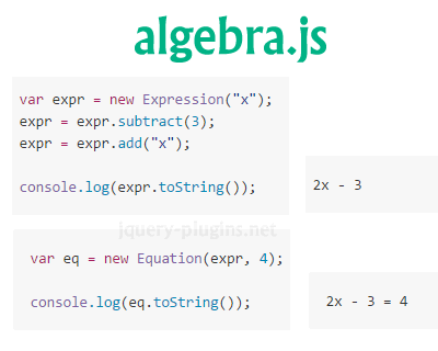 Algebra.js