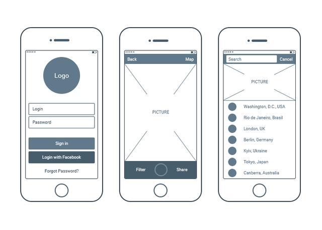 产品原型设计图(参考)图片