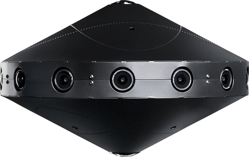 360 度视频捕获系统 Surround 360