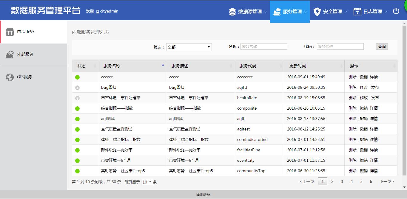 服务管理平台serv