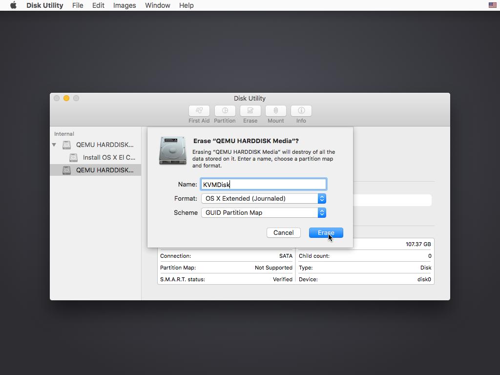 在虚拟机上运行Mac OS X OSX-KVM