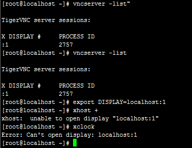linux解决xhost: unable to open display