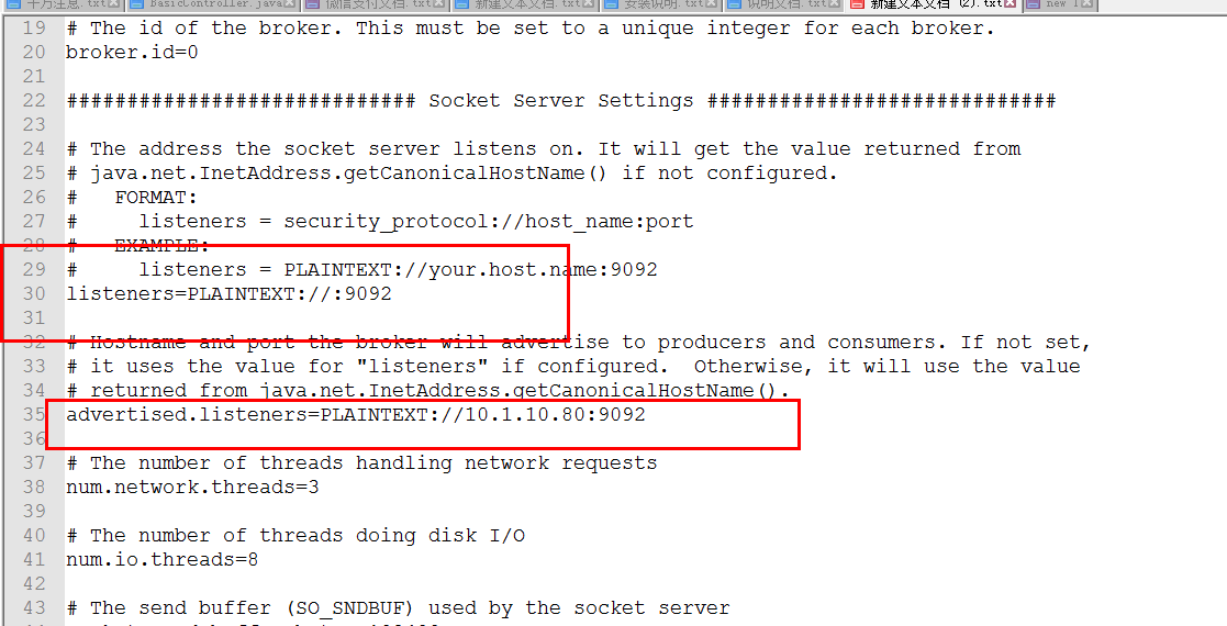 kafka安装,管理,以及常见问题的解决【如:服务端是ok的,java