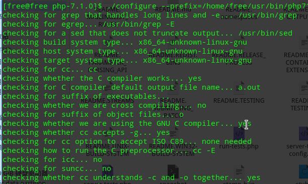thinkphp5+sqlite+php7.1环境搭建...