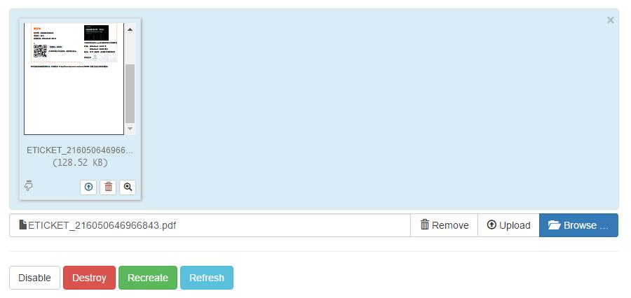 Bootstrap文件(图片)上传插件File Input进阶使用说明 - LeBlancs的个人