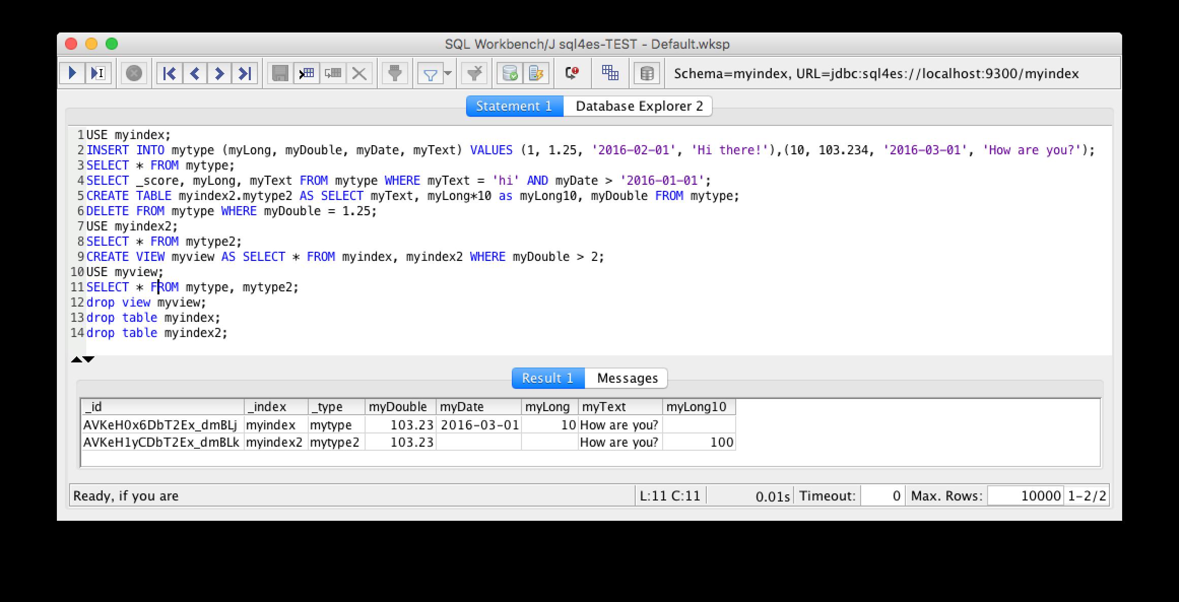 Elasticsearch 的 JDBC 驱动 sql4es