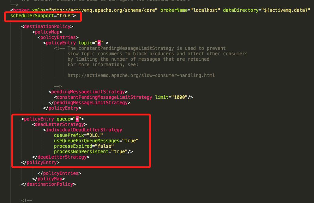 ActiveMQ Stomp的重新投递和死信