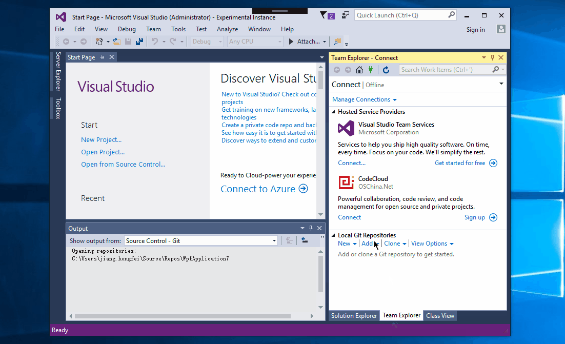 码云 Visual Studio 插件 CodeCloud.VisualStudio