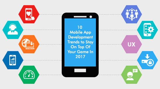 2017 年移动应用开发十大趋势