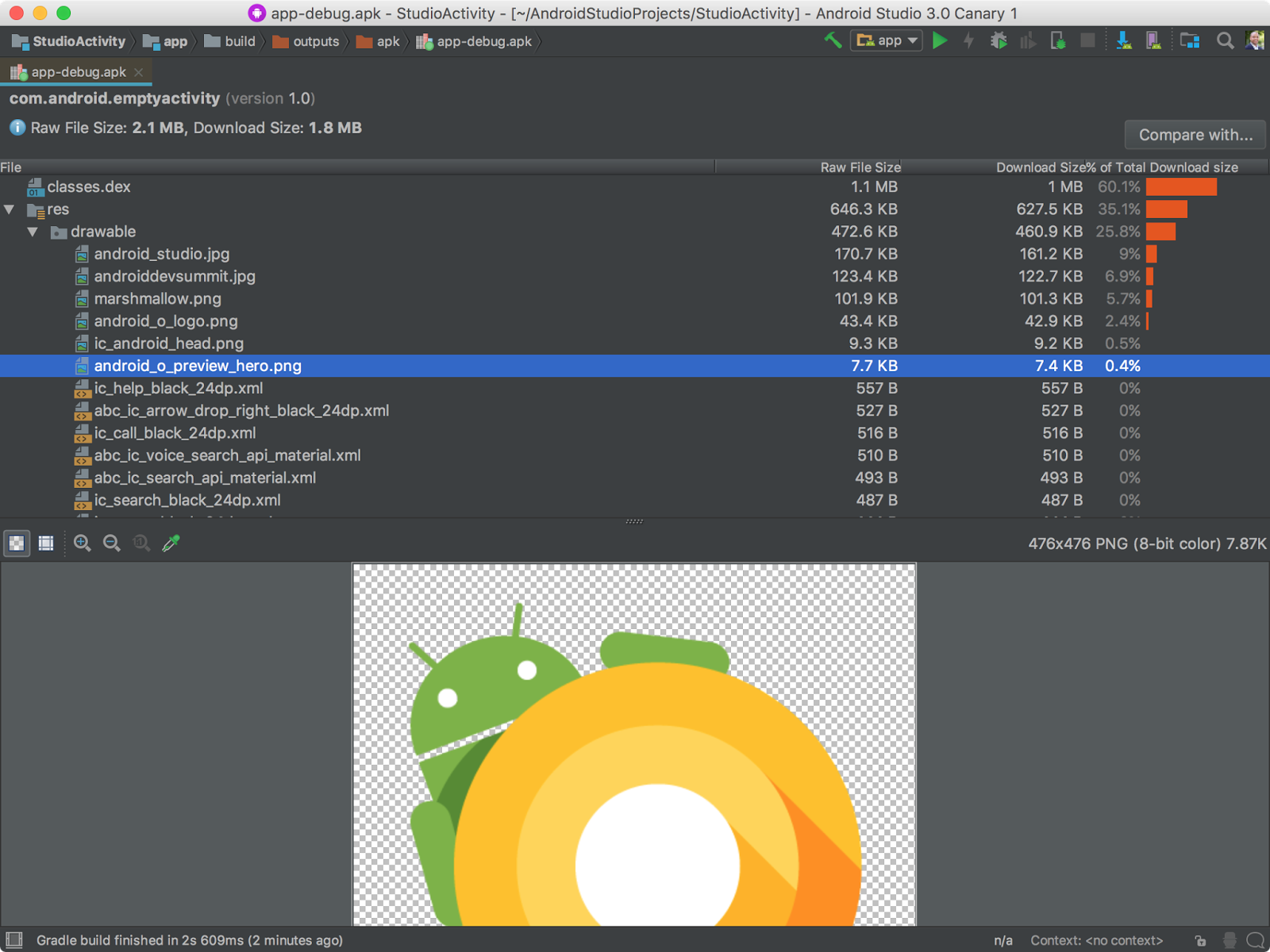 Android Studio 3.0 Canary 1 发布,支持 Kotlin 语言