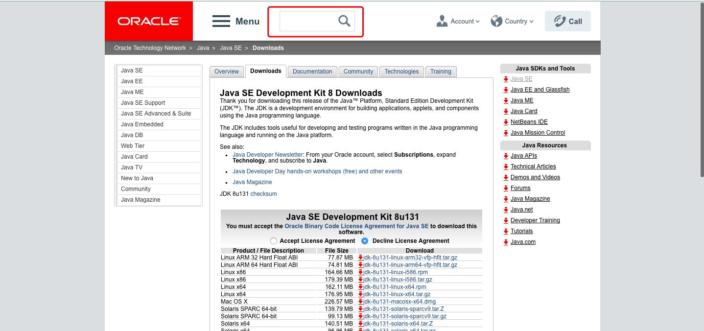 怎么在Oracle官网下载到旧版本的jdk