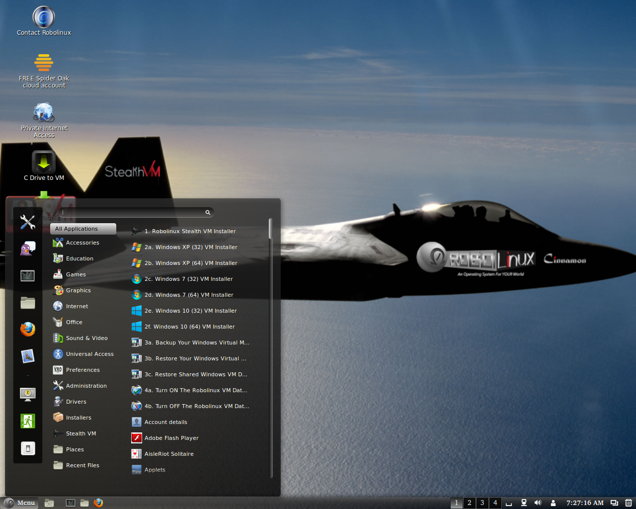 Robolinux 8.8.1 发布,基于 Debian 的 Linux 发行版