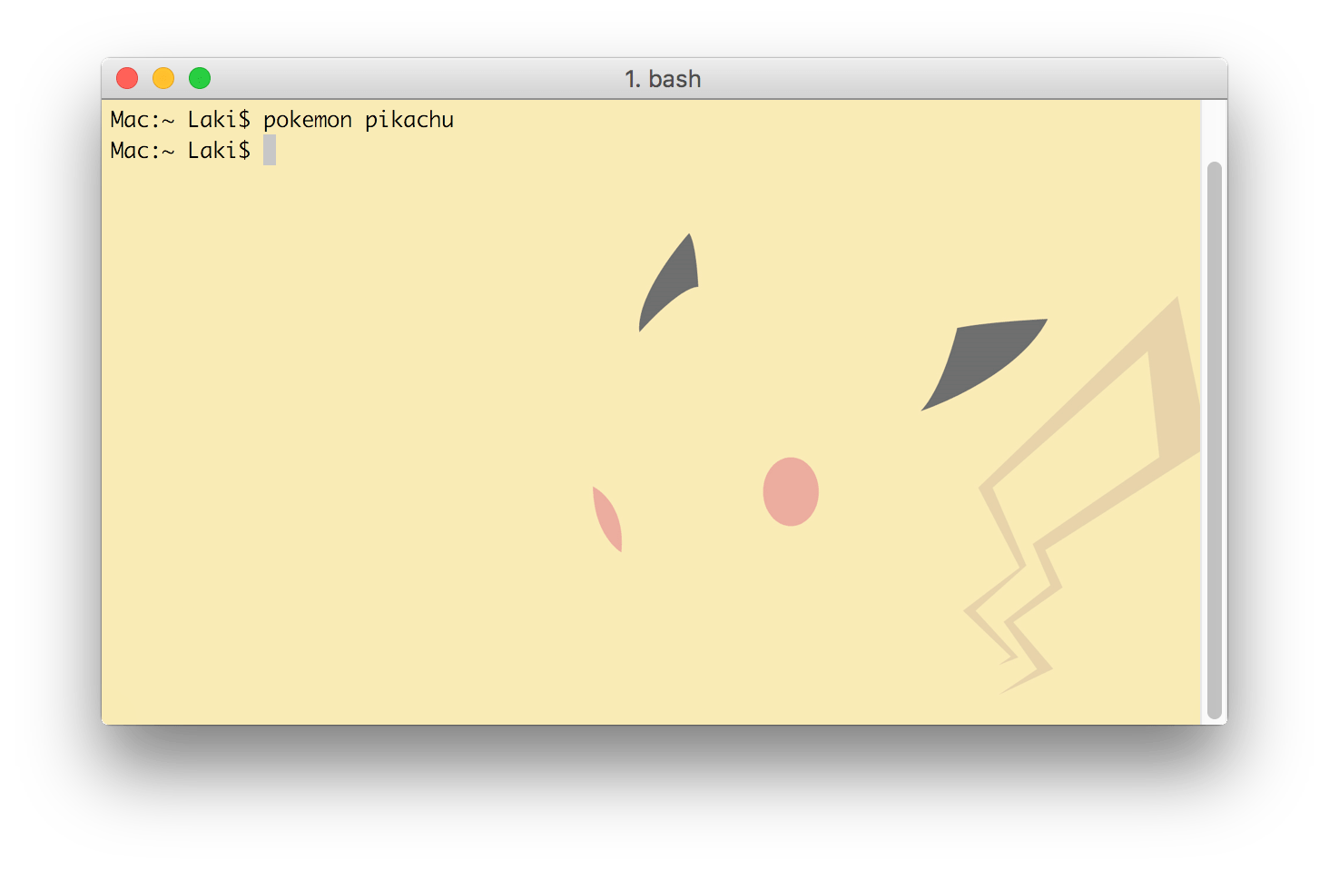 Pokemon-Terminal