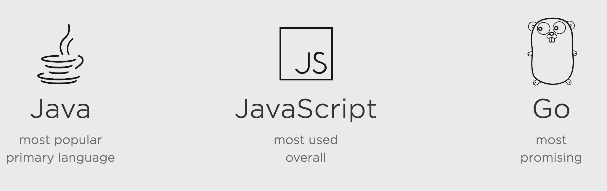 2017 开发者生态报告:Java 最火,Go 最有前途