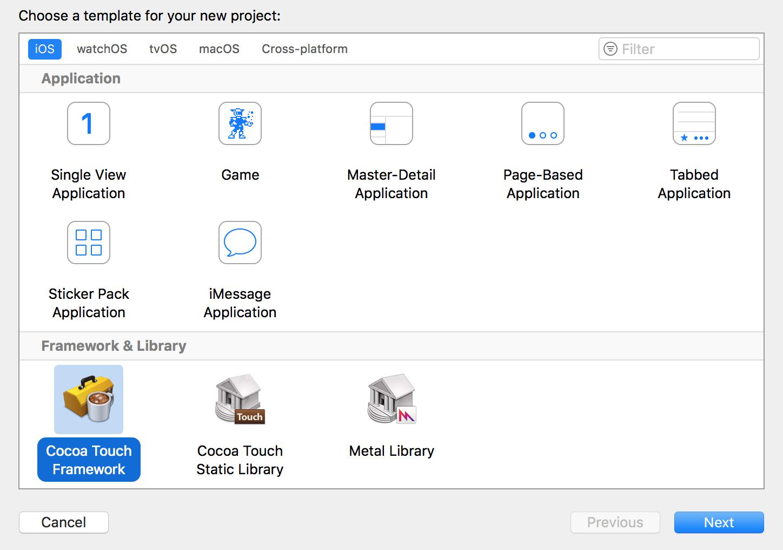 将iOS项目进行子工程化
