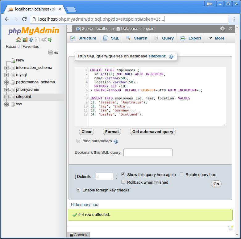 在 Node.js 中使用 MySQL & MySQL JavaScript 客户端(Using MySQL with Node.js & the MySQL JavaScript Client)