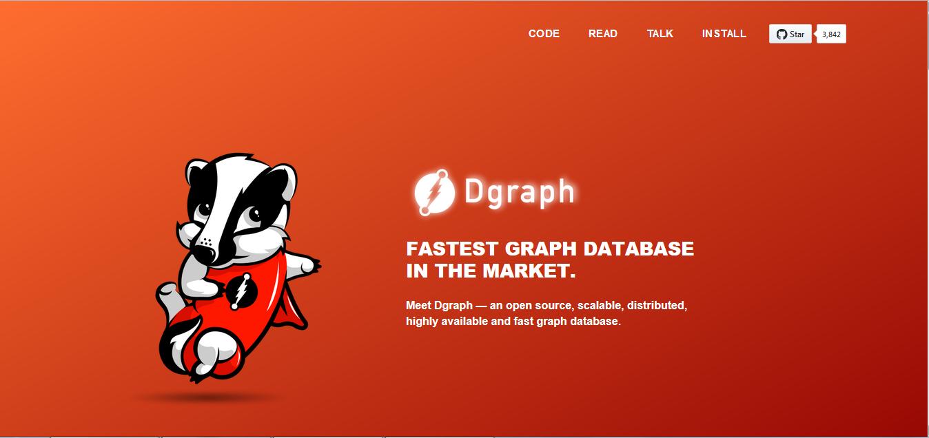 低延迟图数据库 Dgraph