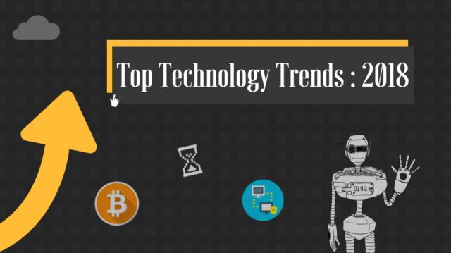 区块链?人工智能?2018 年你应该了解的十大技术趋势