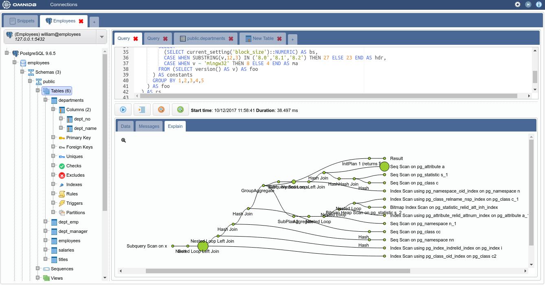基于浏览器的数据库管理工具 OmniDB
