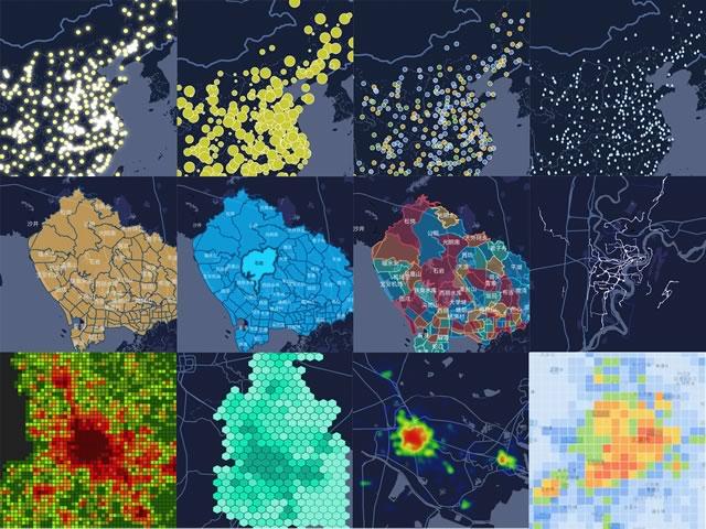 基于 Canvas 的大数据可视化库 inMap
