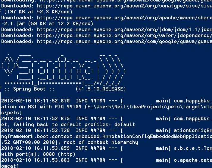 SpringBoot笔记1——一个例子和springboot的三种启动方式