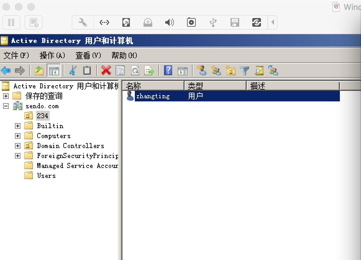 springLdap 操作ad域例子(应该比较详细) - sendo的个人空间- OSCHINA
