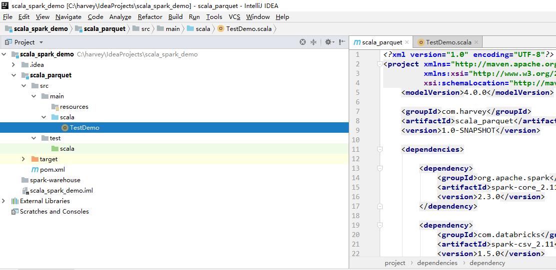 Spark csv文件转换Parquet Scala - 天道酬勤- OSCHINA