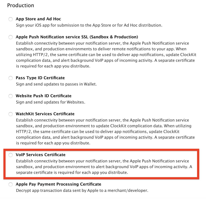 iOS使用VOIP与CallKit实现体验优质的网络通讯功能